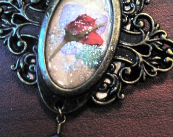 Book of Shadows Series - Rose Spell 2 Necklace