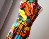 Amazing Vintage Floral Don Luis Espana Floor length gown