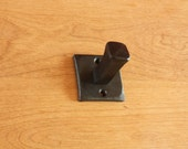 Robe, Coat, or Hat Hook Hand Forged Steel ~ Square
