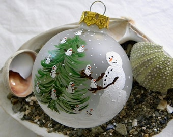 Ornament Snow Mama & babies