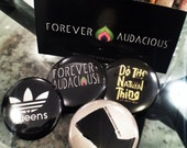FOREVER AUDACIOUS Button Pack (4pc)