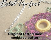 Petal Perfect necklace - original tatting pattern