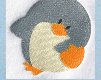 Penguin 1, INSTANT DOWNLOAD, Embroidery Design for Machine Embroidery 4x4