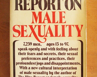 vintage Hite Report on Male Sexuality