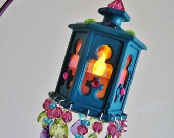 100% Original Moroccan Lantern Lit Chandelier Cake Topper MADE TO ORDER