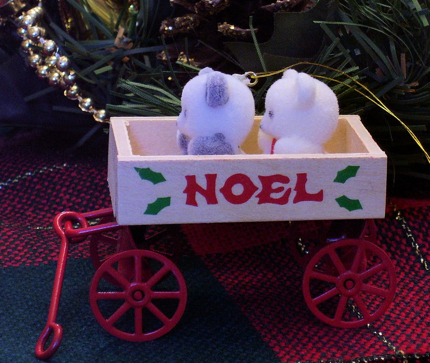 Christmas Ornaments By Avon 1980s