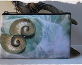 Four unique Designs for a Zip Up Purse Pouch Wallet Bag with Wrist Band in Various Sizes with Custom Original Photo ART by StaticMovement