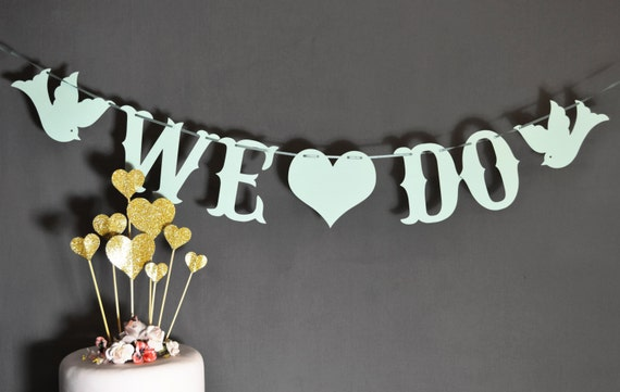We do lovebird custom colour banner for wedding decoration