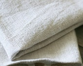 hemp hand towel with hook