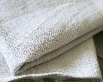 hemp hand towel with hook