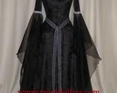 Gwyneth, a Gothic, Renaissance, Medieval Custom Made Hand Fasting Dress