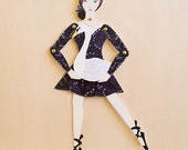 My Little Ballerina Paper Doll