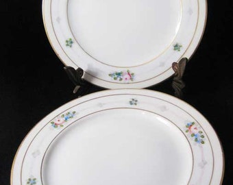 Meito China Japan Bread & Butter Plates (4)MEI208