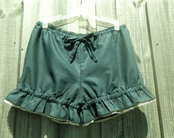 Blue short bloomers Size M Ready to ship