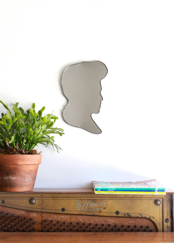 SALE / / / Cameo Bust Mirror / Handmade Wall Mirror
