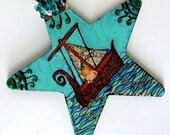 Hand Made Water Goddess Mermaid Baby Pagan Queen Niskai