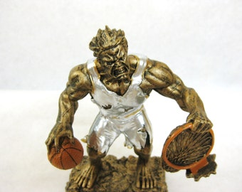Basketball Monster Zombie Resin Trophy A0600058