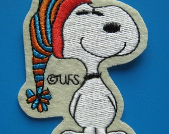 Sale~ Iron-on Embroidered Patch Snoopy 2.75 inch