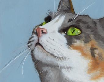 Custom Pet Portrait - oil 11x14