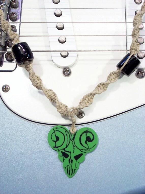 Guitar Pick Necklace Pick of Destiny by LgGuitarPickDesigns