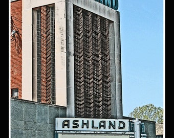 The Ashland Theatre  - Ashland VA  - Fine Art Photography print by Dave Lynch - Free Shipping on any additional purchase