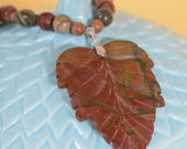 Cherry Creek Jasper necklace and bracelet