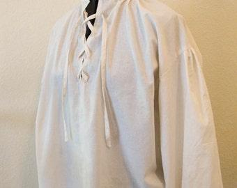 Men's Renaissance Shirt, Men's Pirate Shirt, Ren Faire Shirt