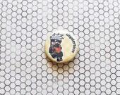 Hatake Kakashi Naruto ninja anime pinback button/magnet