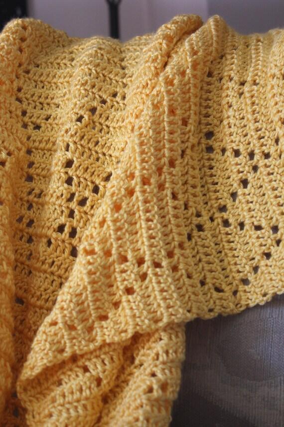 Crochet Baby Blanket Diamond Pattern : Made to Order Crochet Baby Afghan Diamond Pattern