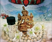 Meditation Blend Natural Perfume Aroma Fragrance  made of high quality essential oils and organic Jojoba Oil