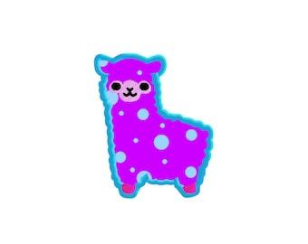 EMBROIDERY FILES: Alpaca Applique - Embroidery Machine Design File