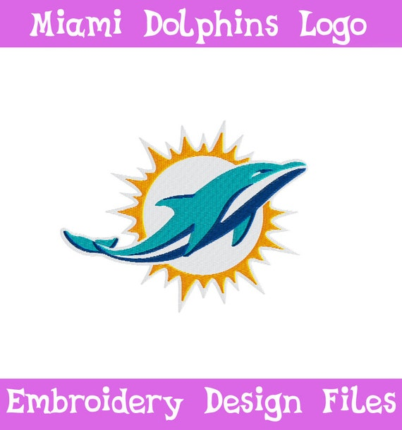 Miami Dolphins Embroidery Designs