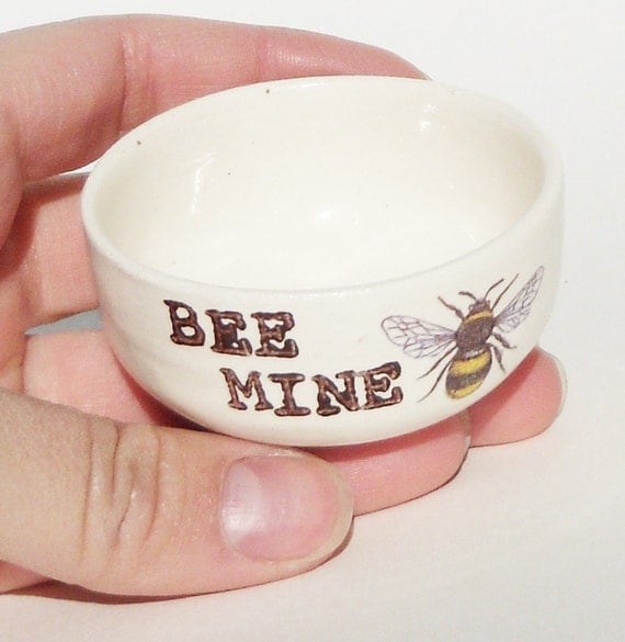 gift for boyfriend HONEY BEE MINE as bridal shower git or engagement gift idea for a summer wedding with honey bee themed wedding gift