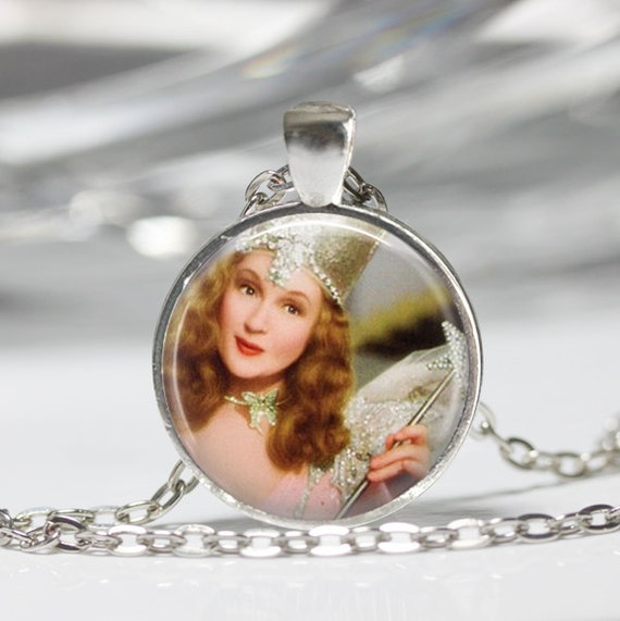Glinda Witch Pendant on Etsy