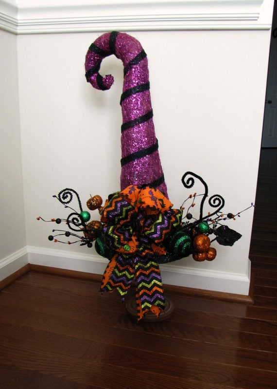 Halloween Decorations Witches Hat Lighted Witch Hat Halloween