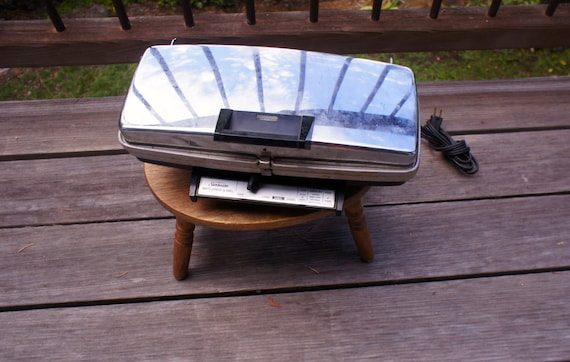 Vintage Sunbeam Waffle Maker And Grill Family By