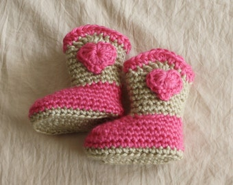 Baby Cowboy Boots Set - Cowgirl Boots - Sweetheart Baby Booties - Customize your Set - Baby Booties - Western Set - by JoJo's Bootique