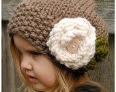 KNITTING PATTERN-Aubrynn Slouchy (Toddler, Child and Adult sizes)