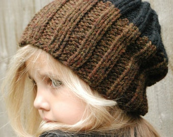 Knitting PATTERN-The Slate Cap (Toddler, Child, Adult sizes)