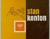 Stan Kenton, Creative World of Stan Kenton - By Request Volume 2 - Jazz Orchestra - Vintage Vinyl Record Album, 1971 Creative World LP