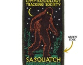 PREORDER - Cryptozoology Tracking Society: SASQUATCH Patch