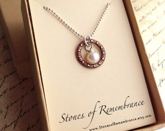 """Purity Necklace Freshwater Pearl """"Guard Your Heart"""" Scripture Jewelry Proverbs 4:23"""