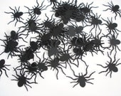 25 Halloween Black Tarantula Spider di