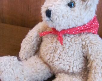 Vintage 90's Ty Inc. Teddy Bear Toy Stuffed Animal Collectible - 1992 - Children's Stuffie - Stuffed Bear