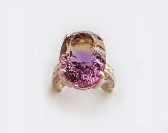 Large Gemstone Ring Etsy