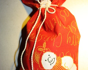 Gift Bag - Fabric Reusable - Medium Size Gorgeous Gift Bag