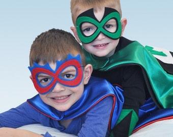Superhero mask accessory