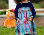 Noelle Party Dress: Christmas Dress Pattern, Party Dress Pattern, Holiday Dress Pattern