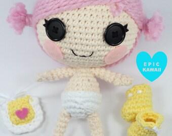 PATTERN: Little Crochet Amigurumi Doll