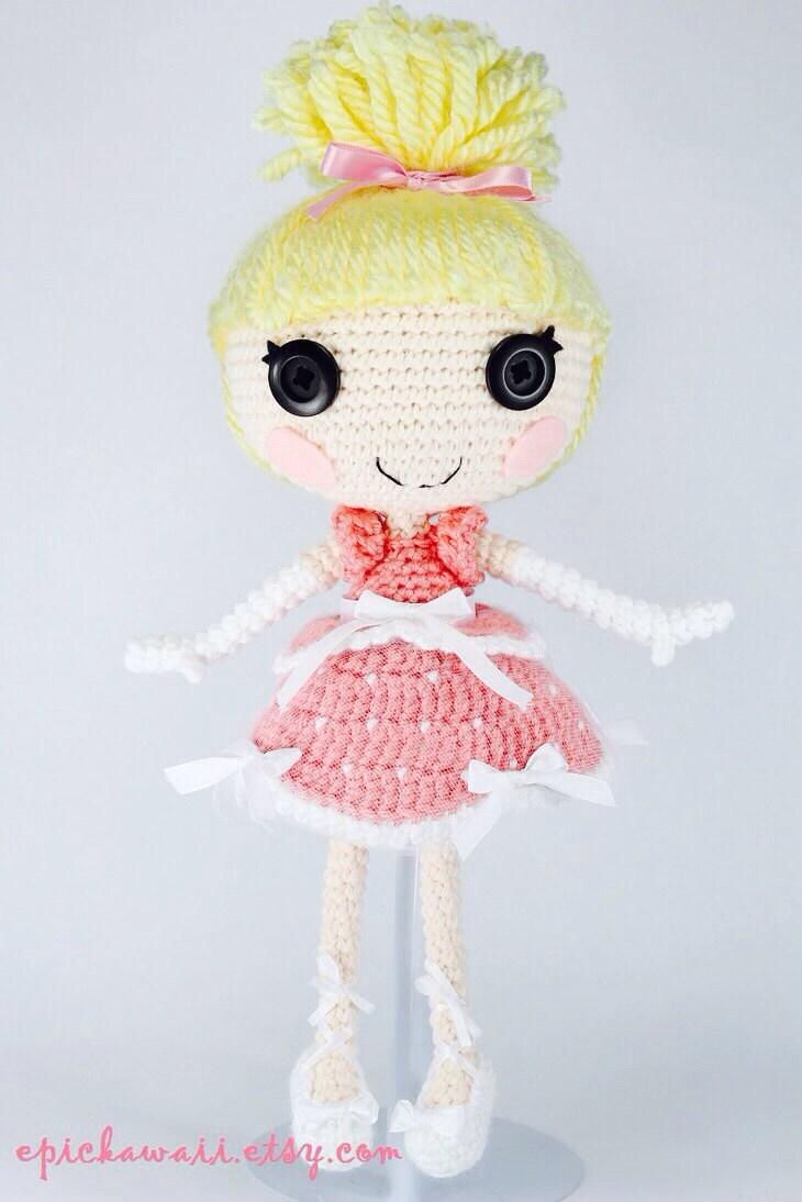 Amigurumi Klesik Doll : CUSTOM DOLL: Lalaloopsy Amigurumi Doll